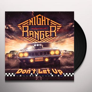 Night Ranger DON'T LET UP Vinyl Record
