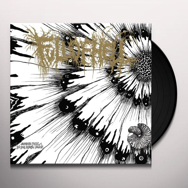Full Of Hell AMBER MOTE IN THE BLACK VAULT (GOLD VINYL) Vinyl Record