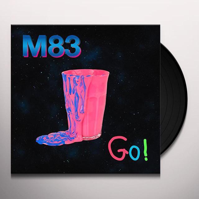 M83 GO! REMIXES Vinyl Record