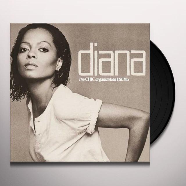 Diana Ross DIANA: THE ORIGINAL CHIC MIX Vinyl Record