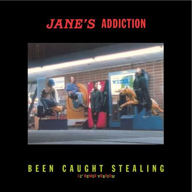 Jane's Addiction BEEN CAUGHT STEALING (REMIX VERSION) Vinyl Record