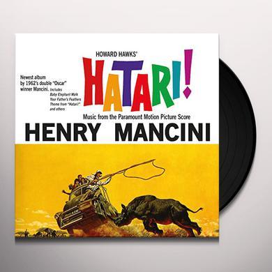 Henry Mancini HATARI / O.S.T. Vinyl Record
