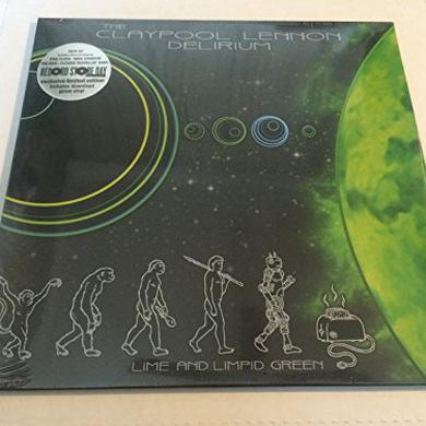Claypool Lennon Delirium LIME & LIMPID GREEN Vinyl Record
