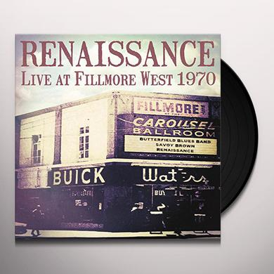 RENAISSANCE LIVE AT FILLMORE WEST 1970 Vinyl Record