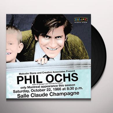 Phil Ochs LIVE IN MONTREAL 10/22/66 Vinyl Record