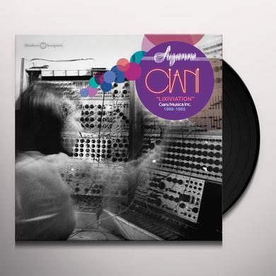 Suzanne Ciani LIXIVIATION - CIANI / MUSICA INC. 1969-1985 Vinyl Record
