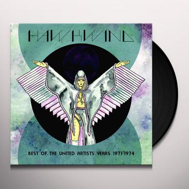 Hawkwind BEST OF THE UNITED ARTISTS YEARS: 1971-1974 Vinyl Record