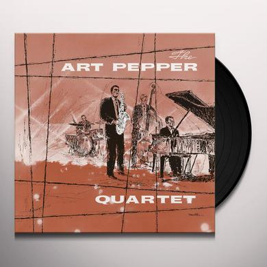 ART PEPPER QUARTET Vinyl Record