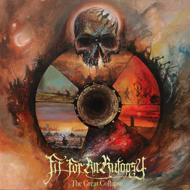 Fit For An Autopsy GREAT COLLAPSE Vinyl Record