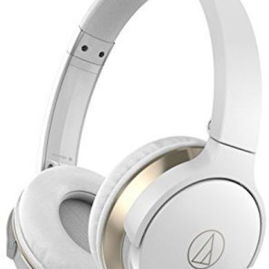 Headphones AUDIO TECHNICA ATH-AR3BTWH SONICFUEL WIRELESS ON-