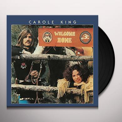 Carole King WELCOME HOME Vinyl Record