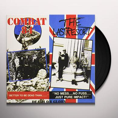 Combat 84 / Last Resort DEATH OR GLORY Vinyl Record