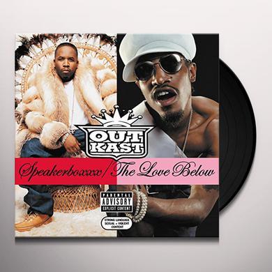 Outkast SPEAKERBOXXX: LOVE BELOW Vinyl Record