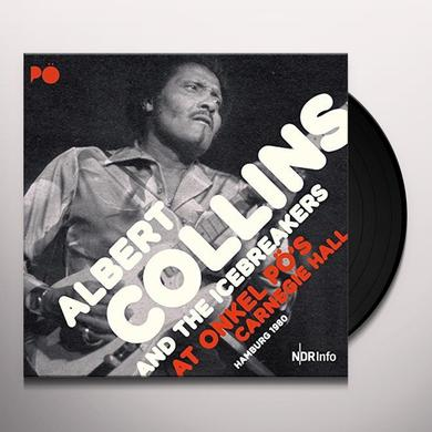 Albert Collins AT ONKEL PO'S CARNEGIE HALL HAMBURG 1980 Vinyl Record