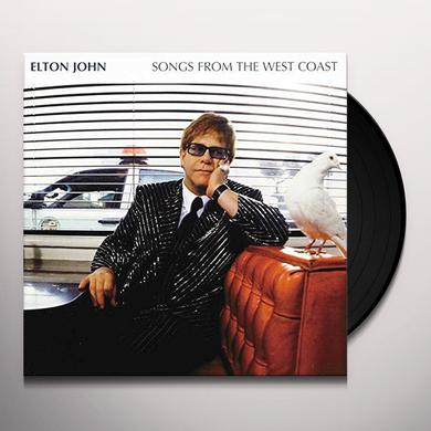 Elton John SONGS FROM THE WEST COAST Vinyl Record