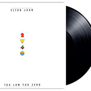 Elton John TOO LOW FOR ZERO Vinyl Record