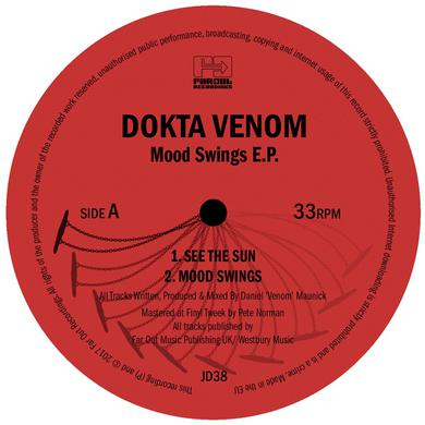 Dokta Venom MOOD SWINGS Vinyl Record
