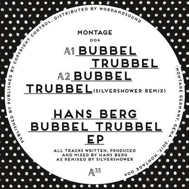Hans Berg BUBBEL TRUBBEL Vinyl Record