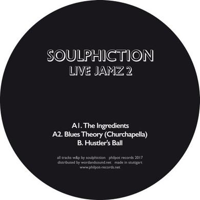 Soulphiction LIVE JAMZ 2 Vinyl Record