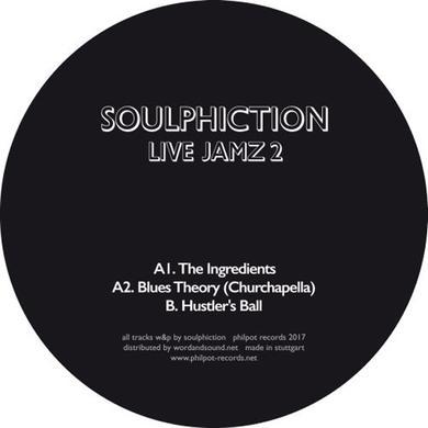 Soulphiction LIVE JAMZ 2 Vinyl Record