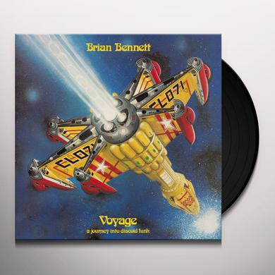 Brian Bennett VOYAGE A JOURNEY INTO DISCOID FUNK Vinyl Record