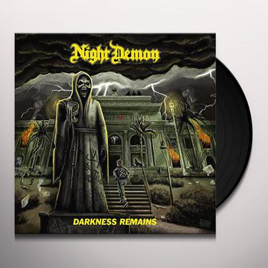 NIGHT DEMON DARKNESS REMAINS Vinyl Record