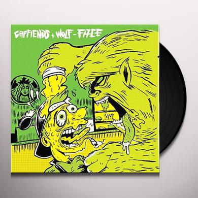 CAFFIENDS / WOLF-FACE Vinyl Record