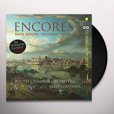 Bach / Handel / Mozart / Maksymiuk ENCORES Vinyl Record