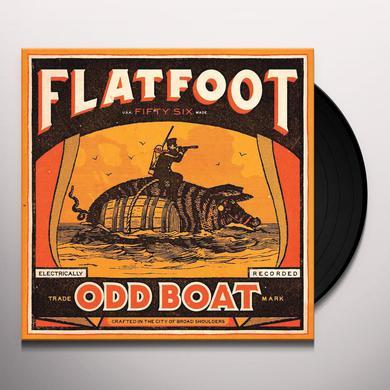 Flatfoot 56 ODD BOAT (BLACK SMOKE VINYL) Vinyl Record