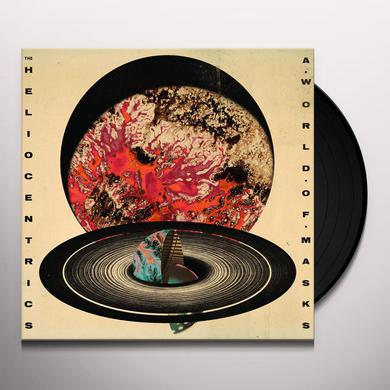 Heliocentrics A WORLD OF MASKS (SPLATTER VINYL) Vinyl Record