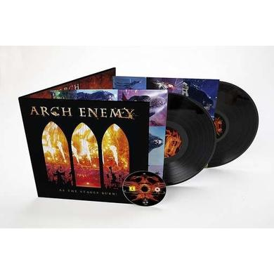 Arch Enemy AS THE STAGES BURN! (INCL. DVD) Vinyl Record