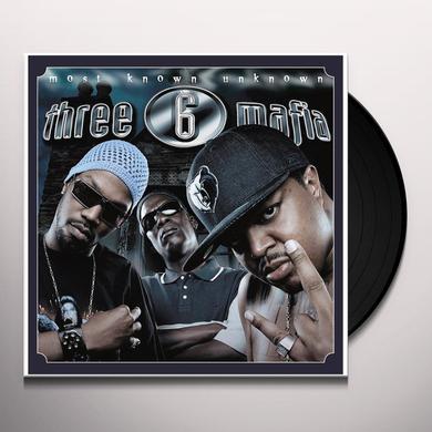 Three 6 Mafia MOST KNOWN UNKNOWN Vinyl Record