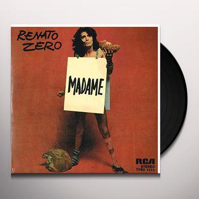 Renato Zero MADAME / UN UOMO DA BRUCIARE Vinyl Record