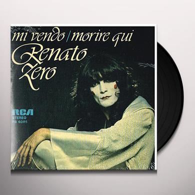 Renato Zero MI VENDO / MORIRE QUI Vinyl Record