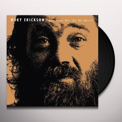 Roky Erickson ALL THAT MAY DO MY RHYME Vinyl Record