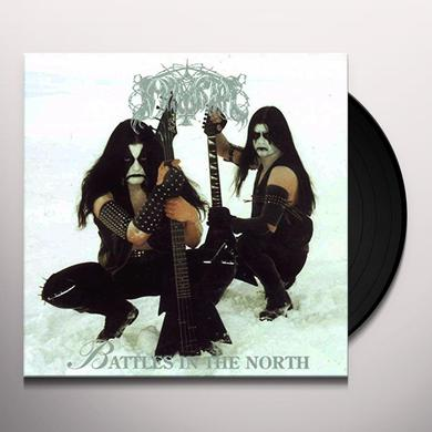 Immortal BATTLES IN THE NORTH Vinyl Record