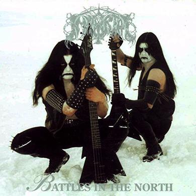 Immortal BATTLES IN THE NORTH Vinyl Record