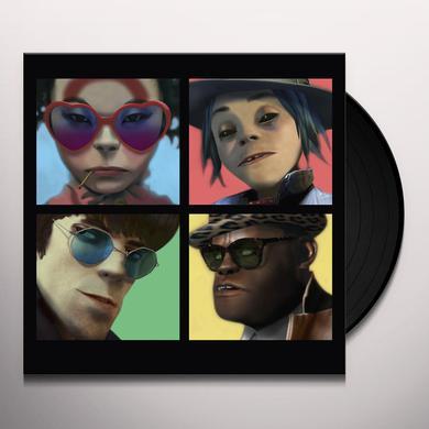 Gorillaz HUMANZ Vinyl Record - Deluxe Edition