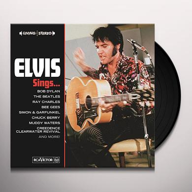 ELVIS SINGS Vinyl Record