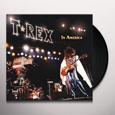 T-Rex IN AMERICA Vinyl Record