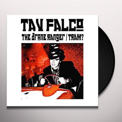 Tav Falco DRONE RANGER / TRAM Vinyl Record