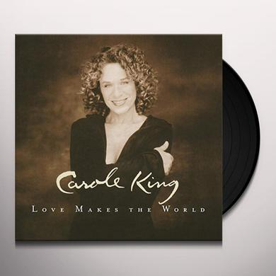 Carole King LOVE MAKES THE WORLD Vinyl Record