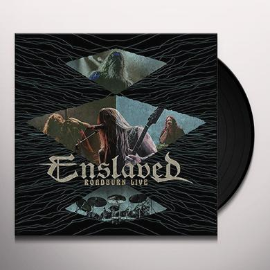 Enslaved ROADBURN LIVE (GREEN VINYL) Vinyl Record