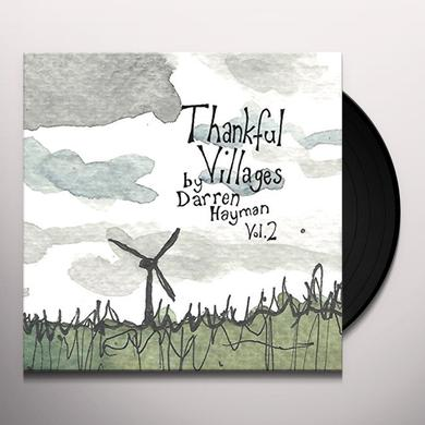 Darren Hayman THANKFUL VILLAGES VOL 2 Vinyl Record