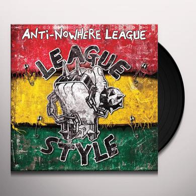 Anti-Nowhere League LEAGUE STYLE Vinyl Record