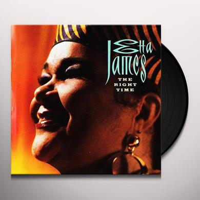Etta James RIGHT TIME Vinyl Record