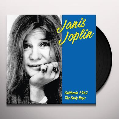 Janis Joplin CALIFORNIA 1962: EARLY YEARS Vinyl Record