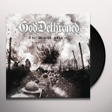 God Dethroned WORLD'S ABLAZE Vinyl Record