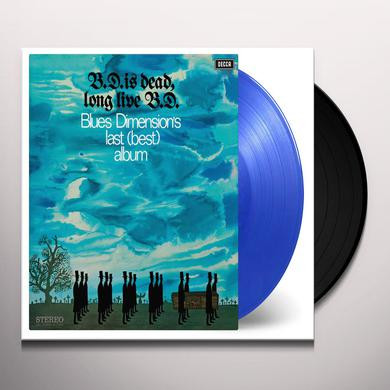BLUES DIMENSION B.D. IS DEAD, LONG LIVE B.D. Vinyl Record