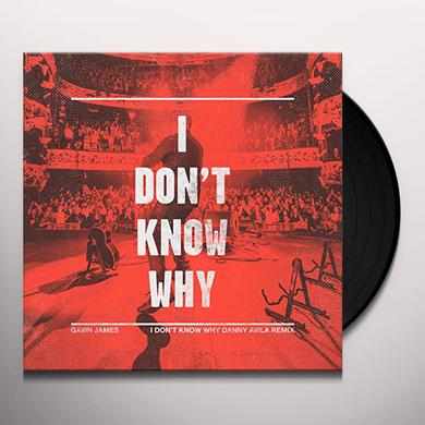 Gavin James I DON'T KNOW WHY Vinyl Record